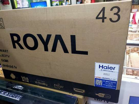 Royal 43 Inches Smart Android TV image 1