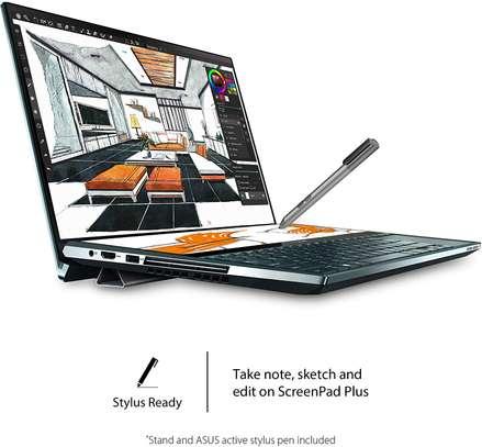 "ASUS ZenBook Duo UX481 Laptop, 14"" FHD NanoEdge Bezel Touch, Intel Core i7-10510U, GeForce MX250, 16GB RAM, 1TB PCIe SSD, Innovative ScreenPad Plus image 5"