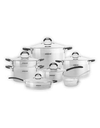 12PCS SS Cookware Set