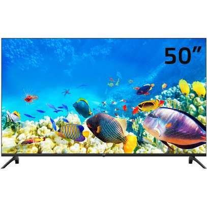 50 inches Skyview Frameless Android UHD-4K Smart Digital TVs image 1