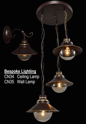 Décor Lighting - CN34 & CN35 Ceiling/Patio with Wall Lamp