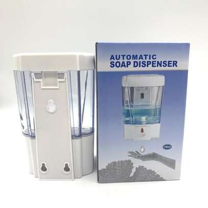 Automatic sanitizer dispenser image 1