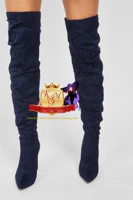 Stevie Slouchy Set Back Heeled Boots image 1