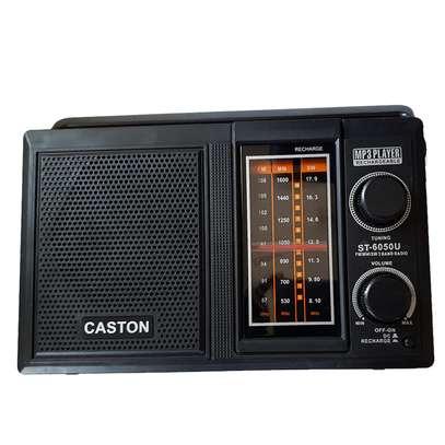 Caston ST-6050U Portable FM /MP3/USB Rechargeable Radio image 1