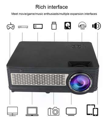 Smart TV Android Projector FHD supports 4K 3D  3,200 lumens image 3