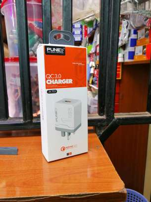 Punex Quick Charge 3.0, USB Wall Charger and Cable image 1