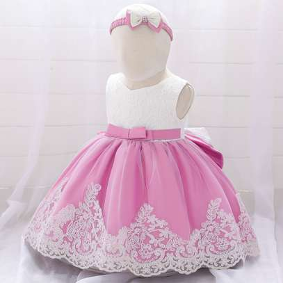 Multi-layer Girl's Dress  (3months-2yrs) image 5