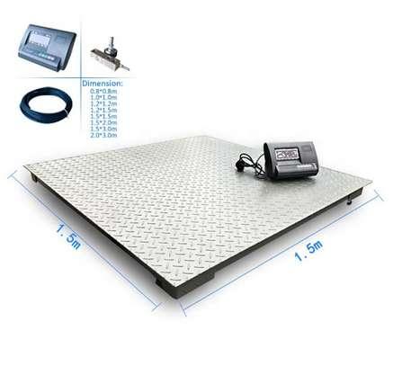 1ton high precision Platform Floor Weigh Scale. image 1