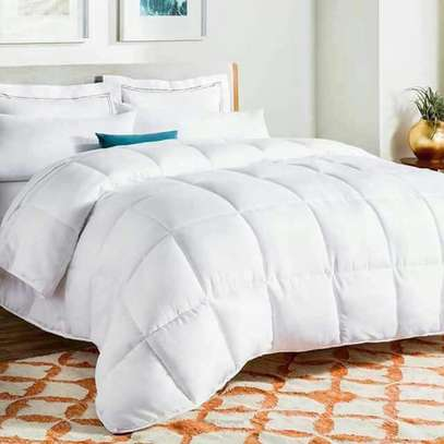 White plain cotton duvets image 1