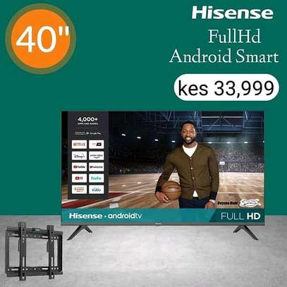 Hisense 40 Inch Smart Android - August Sale image 1