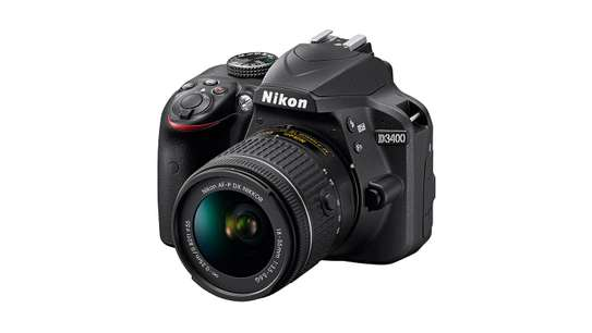 Nikon D3400 DSLR Camera with 18-55mm Lens image 1