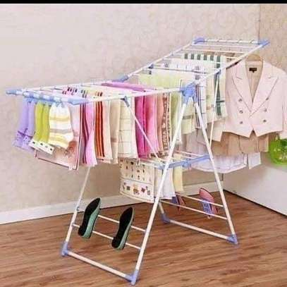 Clothes drying rack image 1