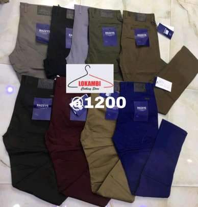 Men Soft Khaki's