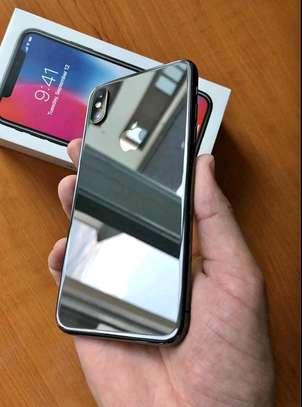 Apple Iphone x Black 256 Gigabytes image 1