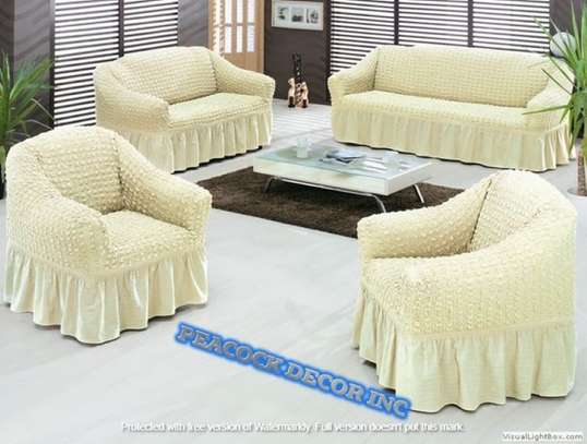 Ready Made Loose Covers 5 seater 11500/= image 12