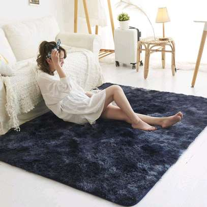 5 by 8 patched Fluffy carpets image 8