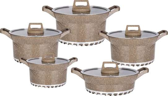 10pcs BOSCH Germany Brand Granite Cooking Pots image 3
