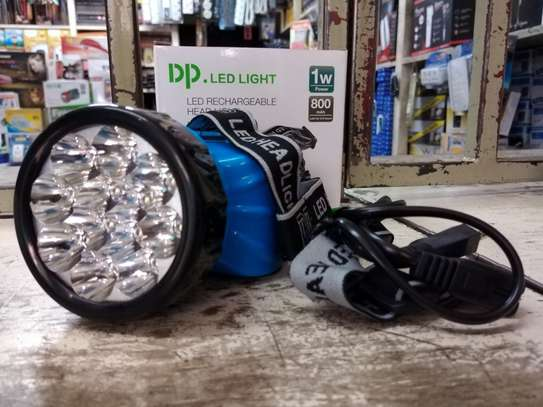 LED RECHARGEABLE HEADLIGHT image 3