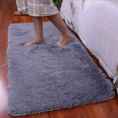 Bedside Fluffy carpet available in different colours