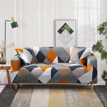 Quality Printed sofa covers for 3 seaters image 3