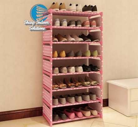 Single storage shoe rack image 4
