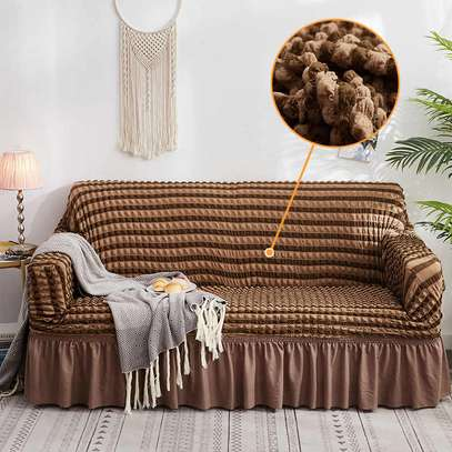 Elastic sofa cover image 2
