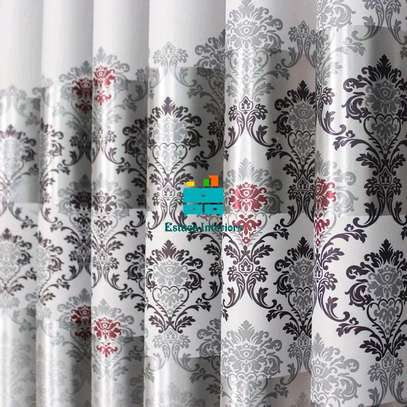 GREY BEAUTIFUL CURTAINS WITH SHEERS image 5