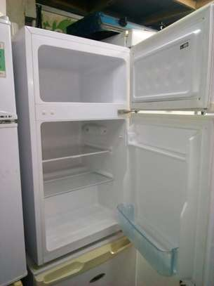 Mini double door fridge image 2