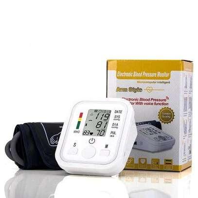 Jziki Digital Arm Blood Pressure Upper Arm Fully Automatic Monitor Heart Beat Meter image 3