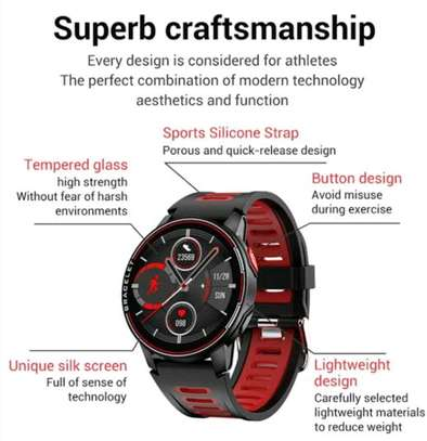 Lemfo L6 Smartwatch - Leading Multi-purpose Functionality: Sports and Life image 3