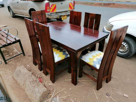 6 seater dinning set image 2