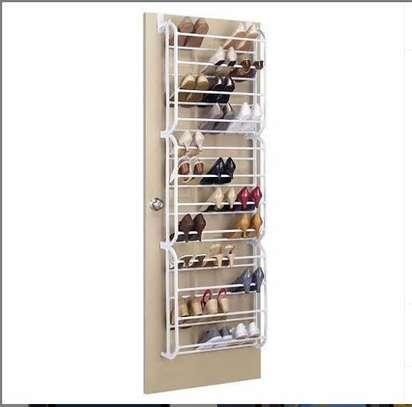 Over the door shoe rack hanger image 1