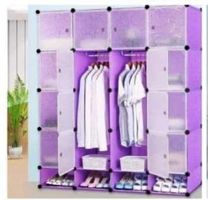 4 columns portable wardrobes#1 image 3