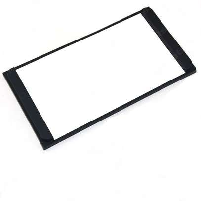 Car Radio Stereo Fascia Panel Refitting Frame 2DIN side spacers. image 2