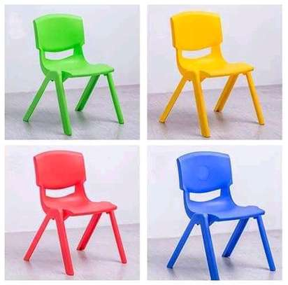 Kindergarten Plastic Chairs image 4