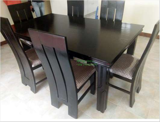 Mahogany dining table image 2