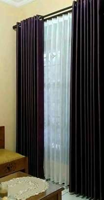 BROWN CURTAINS image 1
