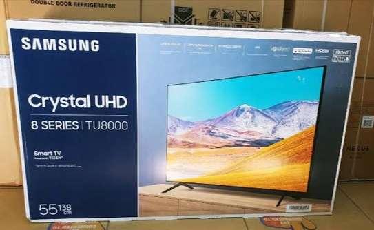 55 Inch SAMSUNG 4K SMART Crystal UHD TV 2020 Model image 1