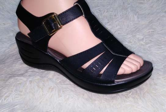 Open Wedge Shoe