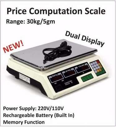 Price Computation Scale 30kg/5gm. image 1