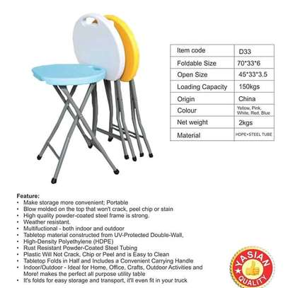 foldable tables, chairs and Stools are available for both indoor and outdoor use image 5