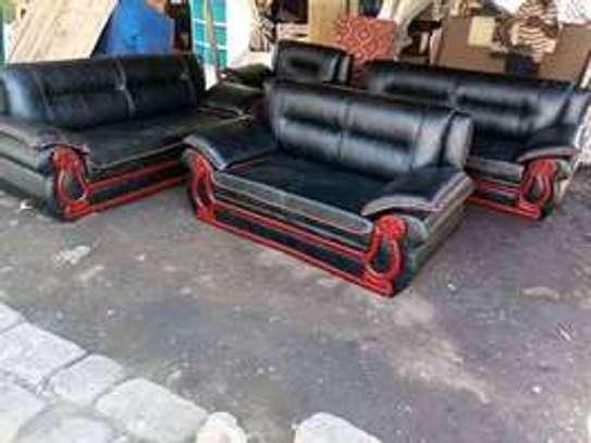 Kangaroo sofas-leather/fabric 5-7 seaters image 2