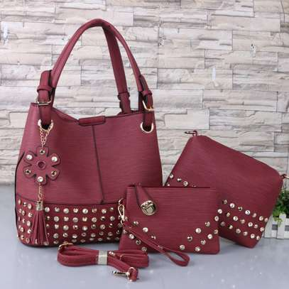 3 in 1 handbag brown
