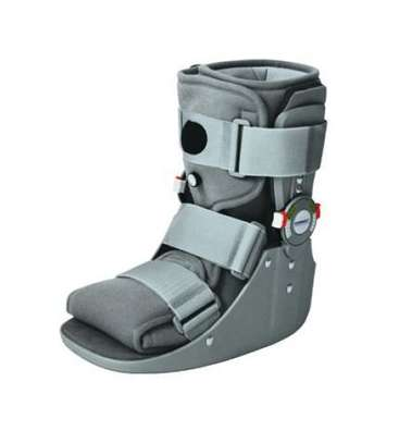 """ROM Air Cam Walking Boot - Pneumatic Ankle walker Boot short 11"""" image 1"""