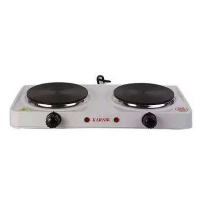 Modern Double Electric Hotplate -Cooker/Table Burner image 1