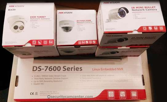4 CCTV camera system complete package image 1