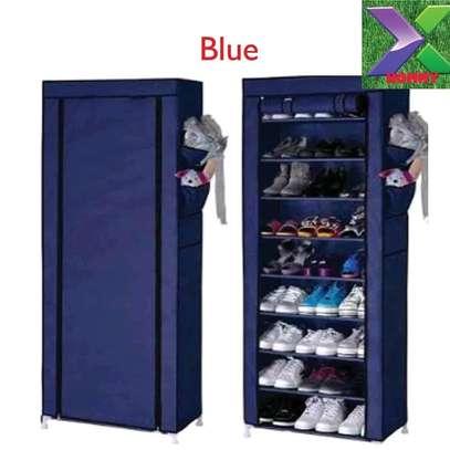 One column shoe rack image 4