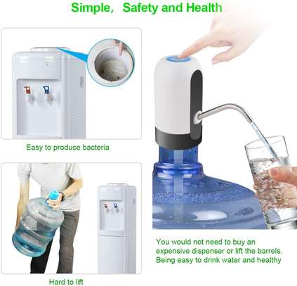 Drinking Water Pump Automatic USB Charging image 5