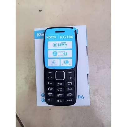 Kgtel KG106 Wireless Fm Support- Dual Sim - Black KABAMBE image 2