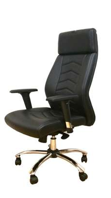 Leather Draughtsman Plus Reception Counter Office Chair image 3